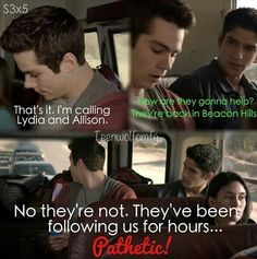 Hahaha I love teen wolf. And Dylan O'Brien