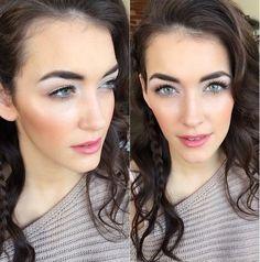 medium wavy hairstyle with a braid