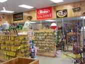 PC Baits -  Come on by our store. We have a wide variety of fishing supplies including live and artificial bait. We have many different brands of rods and reels. We also carry hunting supplies for archery, gun and muzzle loader seasons. Be sure to stop by to get your hunting and fishing licenses and LP Gas. Check out our firearms and we also sell kerosene. [Businesses - Sporting Goods > Fishing Supplies - > Hunting Supplies] Hinton, WV