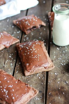 Homemade Chocolate Fudge Poptarts | halfbakedharvest.com