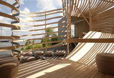 WISA Wooden Design Hotel Architect: Pieta-Linda Auttila Location: Valkosaari island in Southern Harbour of Helsinki, Finland