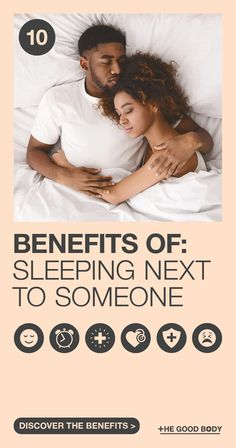 From improving your psychiatric well-being to improving your overall health, we have the reasons why it's great sleeping next to someone you love!