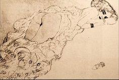 Gustav Klimt - Erótica Sensual