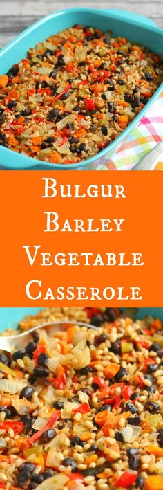 This Bulgur Barley Vegetable Casserole is full of delicious flavors and satisfying enough as a meal itself or paired with just about any meal! My good friend Rachel from Rachel Cooks, first introduced me to this dish of hers a few years ago. Both of our husbands work late sometimes so we would get together for a...Read More »