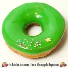 Le donut de la semaine : fourré à la compote de pommes