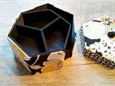 Vera Bradley Jewelry Box Hexagon Sectional Hidden Compartments Travel Trinkets