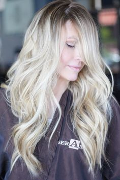 Rooty blondes 101: I came up this this concept about 4-5 years ago when ombre was just starting to trend. Everyone was moving away from the traditional weave of 2 highlights to one low light, and moving towards this grownRead more