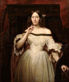 Hairdressing and fashion in the 1850s