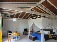 Click Interiores   Deixando o Telhado Aparente: Pintando de Branco