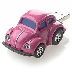 VW Beetle Memory Stick - Pink  who over designed this thank goodness i love it......