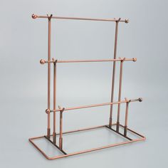 New Bronze T 083 Necklace Jewelry Display Stand Rack Holder Hot Selling | eBay