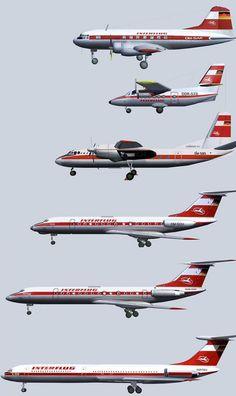 Interflug fleet