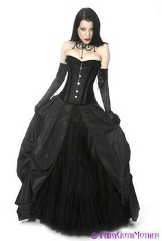Gothic Dress- Fairy Goth Mother'