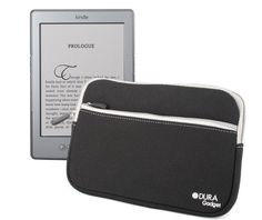 DURAGADGET Black Water Resistant Neoprene Soft Zip Case/Cover For New 2011 Amazon Kindle 4, Kindle Touch, Kindle Touch 3G, Kindle Fire And Kindle 3 by DURAGADGET. $26.99. DURAGADGET'S new neoprene zip case makes transporting your new Amazon Kindle safe and secure. Knocks and scratches are no longer a worry with this soft and supple slip case.