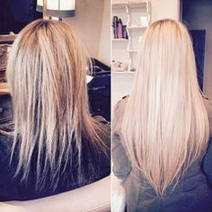 What are the Best Hair Extensions for Thin Hair?  (It's been very surprising how popular this pin is!  Now almost 500 re-pins — pretty much, a couple more every day!!)
