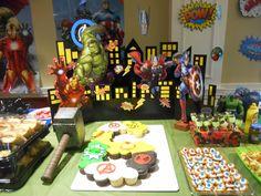 Number 6 Avenger Cake Avenger Cake, Avenger Party, Spiderman, Avengers Birthday, Marvel, Birthday Cake, Number, Halloween, Desserts