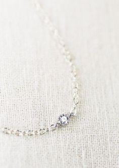 Hoku bracelet silver solitaire bracelet