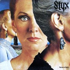 Styx - Pieces Of Eight CANADA 1978 LP near mint