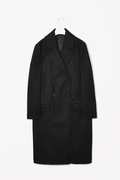 Double Breasted Coat - Lyst