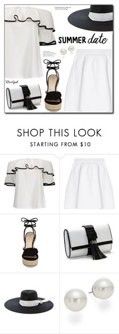 """""""Smokin' Hot: Summer Date Night"""" by boky-d ❤ liked on Polyvore featuring malo, Pelle Moda, Missoni and AK Anne Klein"""
