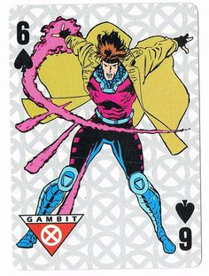 Six of Spades - Gambit by Jim Lee by stormantic, via Flickr