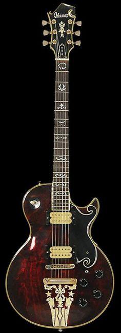 ゝ。1976 Ibanez Custom Agent Artist 2405 Guitar.。