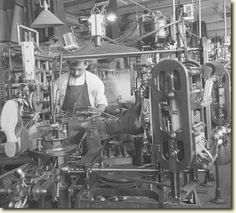 Shoe finishing, Endicott Johnson Plant, Endicott NY. 1917