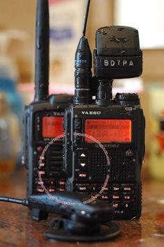 Yaesu VX-8DR HT Ham Radio - 6m, 2m, 440, and 222mhz