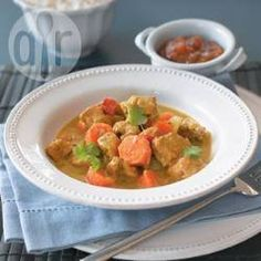 Slow Cooker Chicken Curry @ allrecipes.co.uk