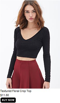 This top is neither textured nor floral...