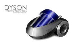 robotics product design: Dyson Vacuum cleaner