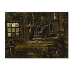 Van Gogh U0027A Weavers Cottageu0027 Canvas Art ...