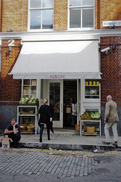 ~ Albion Café | Shoreditch, London ~