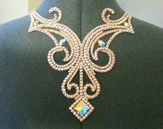 International Standard rhinestone necklace https://www.etsy.com/listing/270521076/ballroom-zoe-necklace