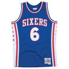 Mitchell   Ness Swingman NBA Jersey - Philadelphia 76ers - Erving -  76- 77 6e91085e8