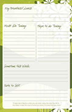 Printable To-Do List