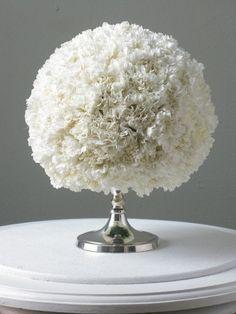 carnation arrangement via Eddie Ross