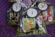 6x PreFilled Tinkerbell Party Favor Bags by MyPrettyLittleParty, $9.00