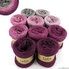 Granny Pattern, Flamingo Flower, Row By Row, Inside The Box, Types Of Yarn, Gradient Color, Knitting Projects, One Color, Lana