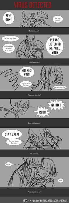 Mystic Messenger: Promise_Part10 by Ayza-chan