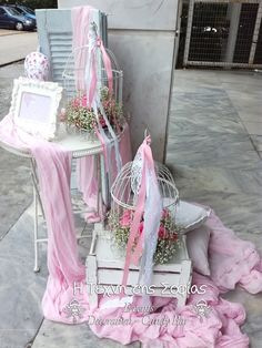 Event Decor, Wooden Boxes, Christening, Ladder Decor, Box Decorations, Diy And Crafts, Backdrops, Decorative Boxes, Rose