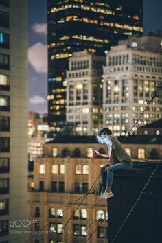 On the roof by a_frenchman_in_ny