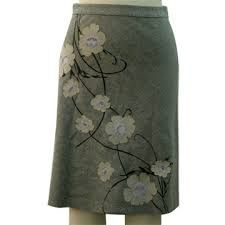 Skirt reverse applique - Google Search