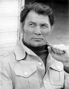 Jack Palance - one of the more unique looking Hollywood actors.