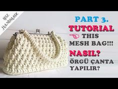 Gelin Gibi Çanta! Part 3. Balık modeli. Metal kilitli Çantamın Yapılışı - YouTube Crochet Clutch Pattern, Crochet Patterns, Crochet Purses, Crochet Bags, Crochet Pencil Case, Crochet Christmas Gifts, Photo Pattern, Diy Bags, Purse Patterns