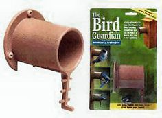 Picture of Audubon Entities Bird Guardian Predator Guard for bird houses