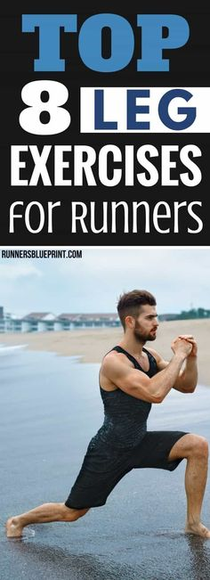 The right lower body workout routine should make them strong and bulletproof your lower body from common overuse injuries, like runner's knee and stress fractures and other ailments. The Best Leg-Strengthening Exercises Perform these 8 exercises and the workout routine I'm sharing with you below to build strong, powerful legs. http://www.runnersblueprint.com/leg-strengthening-exercises-runners/ #Leg #Strength