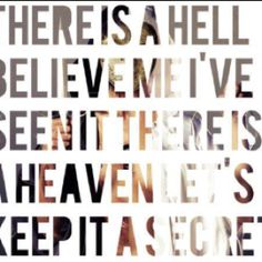 BMTH. i always talk about this Quote