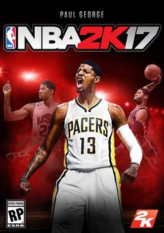 fbe914f426e NBA Superstar Paul George Graces Cover of NBA® 2K17 Available on September  20