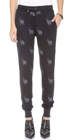 Elephant All Over Sweatpants | Zoe Karssen